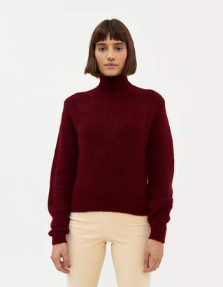 Paloma Wool Himalaya Chunky Sweater in Maroon
