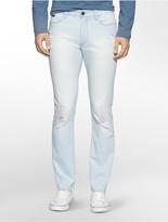 Calvin Klein Slim Leg Light Wash Jeans