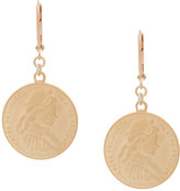 Theatre Products circular coin earrings