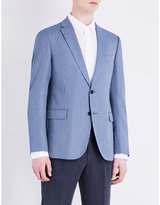 Armani Collezioni Bamboo-stitch Modern-fit Jacket