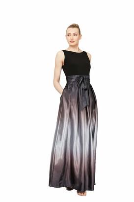 SL Fashions Women's Petite Sleeveless Bead Waist Maxi Dress