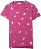 Lacoste Women's Crew Neck Astronaut Print Flowing Jersey T-shirt