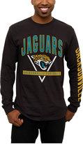 Junk Food Clothing Men's Jacksonville Jaguars Nickel Formation Long Sleeve T-Shirt