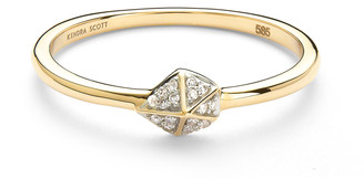 Kendra Scott Fazia Ring in White Diamond