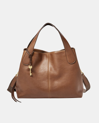 Fossil Maya Brown Satchel Bag
