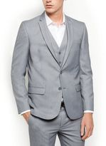New Look Grey Slim Fit Suit Jacket