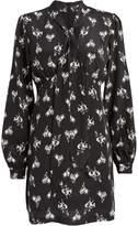 RE/DONE 60's Bow Silk Mini Dress