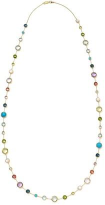 Ippolita 18kt yellow gold Lollipop Lollitini multi-stone necklace
