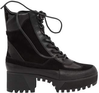Louis Vuitton Laureate Black Suede Ankle boots