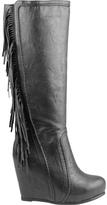 Ann Creek Women's Fringed Leg Boot