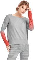 Gap GapFit Breathe ombré pullover sweatshirt