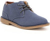 Kenneth Cole Reaction Kenneth Cole New York Boy's Real Deal Fabric Lace Up Chukka Boot
