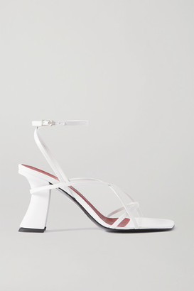 BY FAR Kersti Leather Sandals - White
