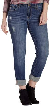 Jag Jeans Distressed Carter Girlfriend Jeans