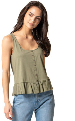 Forever New Juliana Button Front Tank