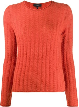 Theory Cable-Knit Cashmere Jumper