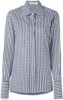 Victoria Beckham checked button down shirt