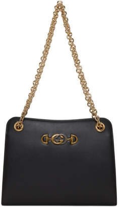 Gucci Black Zumi Shibuya Shoulder Bag