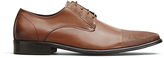 Kenneth Cole Monkey Clip Leather Oxford