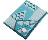 Wilson Donna Aravalli Throw - 200x150cm - Blue Vee