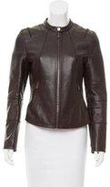 Neil Barrett Leather Moto Jacket