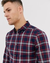 French Connection cotton check shirt