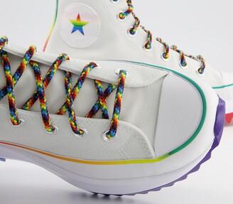 Converse Runstar Hike Trainers Pride White Multi White