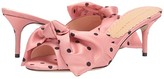 Charlotte Olympia Lola Mule w/ Bow (Pink) Women's Shoes