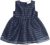Name It Girls Sleeveless Mesh Stripe Dress