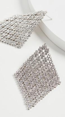 Theia Diamond Shape Chandelier Earrings