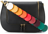 Anya Hindmarch Black 'vere' link strap satchel - women - Cotton/Leather - One Size