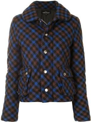 Comme Des Garçons Pre-Owned Lumber check jacket