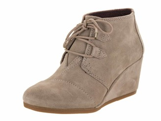 Toms Womens Kala Desert Taupe Suede 12 B (M)