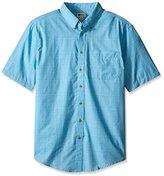 Haggar Men's Big-Tall Short-Sleeve Weekender Woven Shirt,,