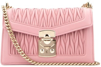 Miu Miu Matelasse Chain Strap Shoulder Bag