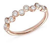 Bloomingdale's Diamond Bezel-Set Ring in 14K Rose Gold, 0.40 ct. t.w. - 100% Exclusive