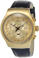 Swatch Men's YOG402 Tone Stainless Steel Dial Watch
