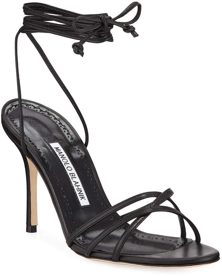 6a0d9e33d51a Manolo Blahnik Strappy Women s Sandals - ShopStyle