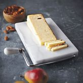 "Sur La Table Marble Cheese Board and Slicer, 8"" x 5"""