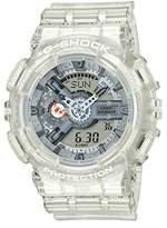 Casio GA110CR-7A Baby G Women's Watch White/Clear 51.2mm Resin