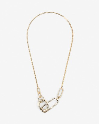 Express Interlocking Link Chain Necklace