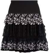 Pinko Guipure Layered Skirt
