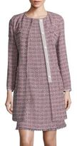 Max Mara Vicario Tweed Long Topper