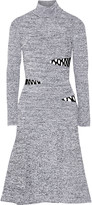 Proenza Schouler Cutout stretch-knit turtleneck dress