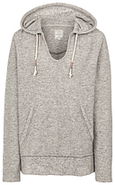 Fat Face St Ives Overhead Hoodie, Grey Marl