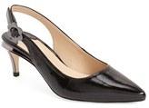 J. Renee 'Pearla' Slingback Pointy Toe Pump (Women)