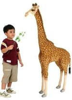 The Well Appointed House Hansa Toys Large Stuffed Giraffe