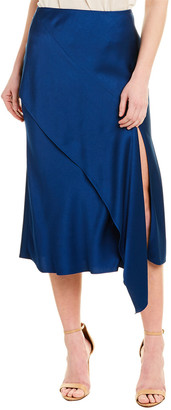 Jason Wu Collection Jason Wu Silk-Lined Satin Skirt