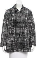 Prada Printed Trench Coat