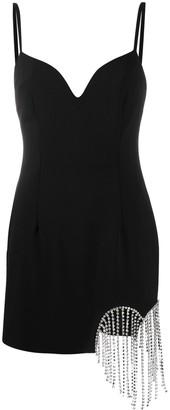 Area Gemstone-Detail Short Dress